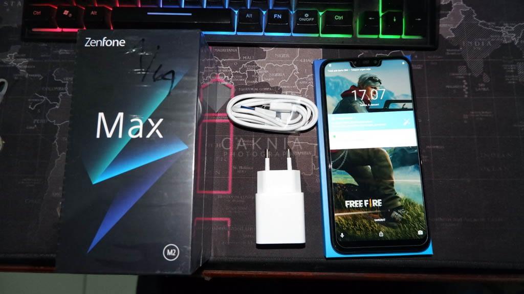 Unboxing Zenfone Max M2