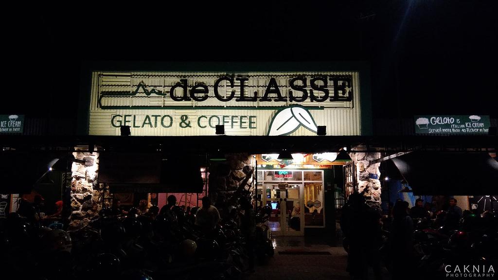 de CLASSE Gelato and Coffee
