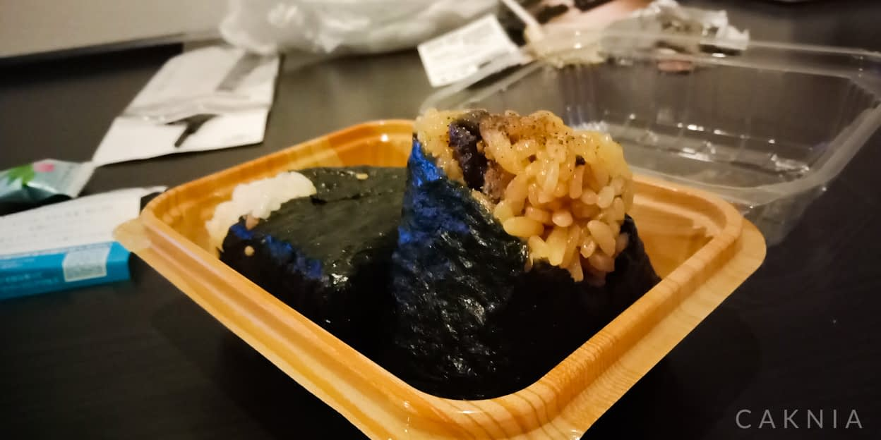 Onigiri Isi Belut (鰻のおにぎり)