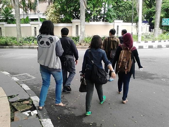 Perjalanan ke Balaikota Malang