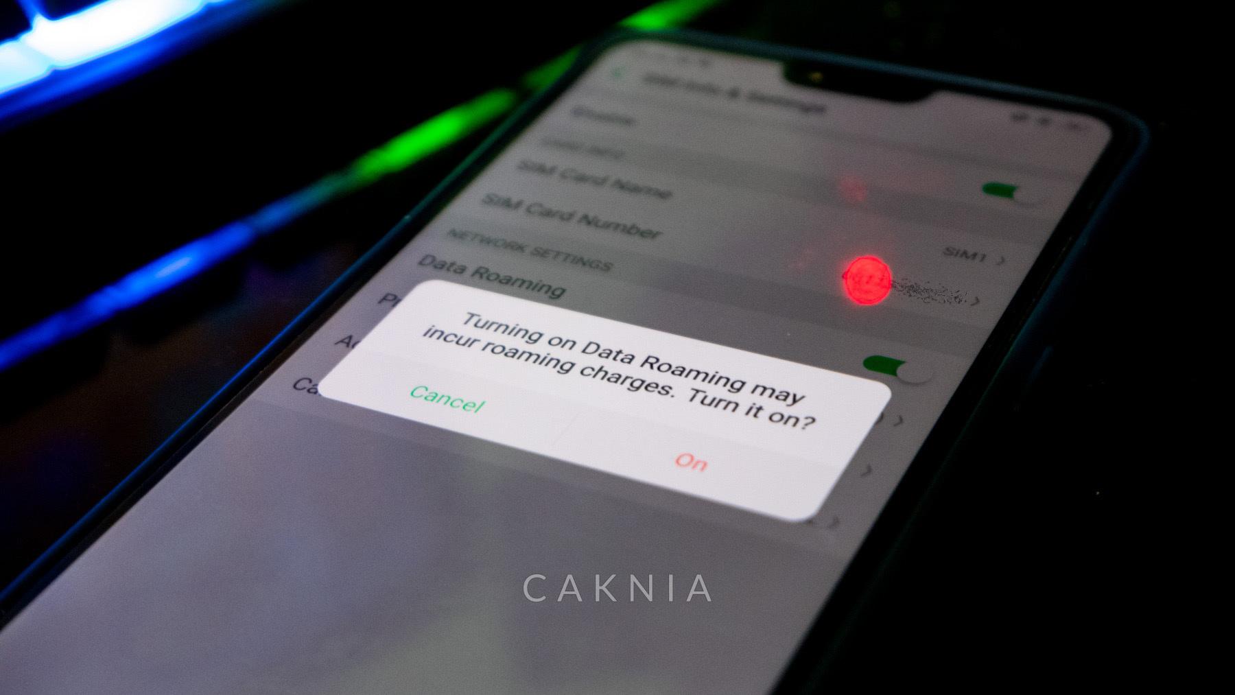 Aktivasi Roaming di Smartphone