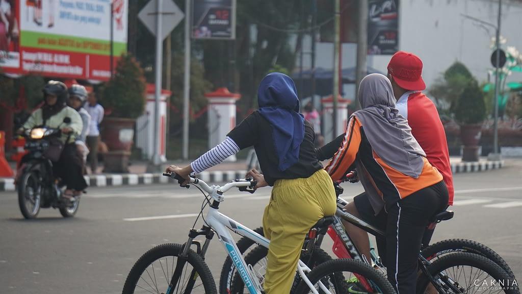 Mau Sepedaan Kemana Mbak?